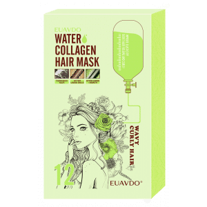 12 Water Collagen Hair Mask Elastic and Curly Hair 30ml
