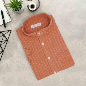 Men Short Sleeve Shirt (KKT019)