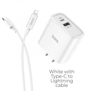 Hoco charger set(Type-C to Lightning) (C57)