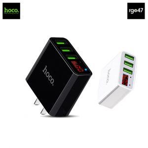 Hoco Superior strength three port charger (C15)