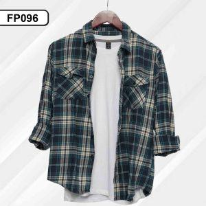 Men Flannel Shirt (FP096)