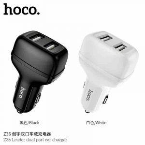 Hoco Z36 Leader dual port car charger