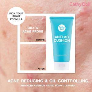 Cathy Doll Anti-AC Cushion Facial Foam Anti-AC