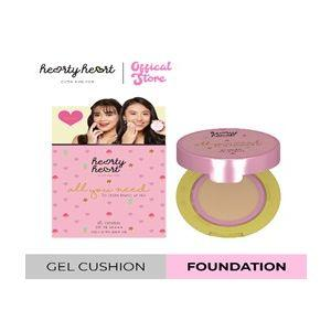 Hearty Heart Gelly Bouncy Pact Gel Cushion (4.5 g)(Custard)