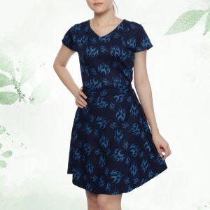 MandW Women Dress (MW4600-1050)(S to L)(1)
