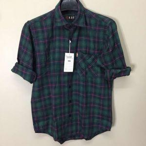 Men Flannel Shirts (XIX015)