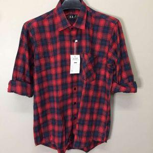 Men Flannel Shirts (XIX016)