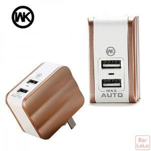 WK Mousse  series 2USB home charger-41311