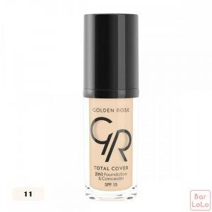 TOTAL COVER 2in1 Foundation and Concealer-56430