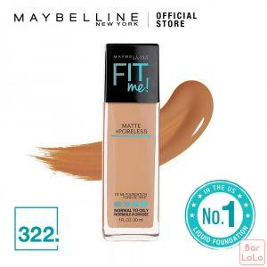 MAYBELLINE NEW YORK Fit Me Matte   Pore Foundation 322 Sun Beige ( G3389700)-62378
