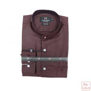 Stick Collor Shirt  Long Sleeves (Exclusive) (MT004M69)-62628