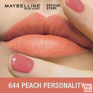 MAYBELLINE NEW YORK COLOR SENSATIONAL CREAMY MATTE LIPSTICK 644 PEACH PERSONALITY 3.9G(G3573300)-62655