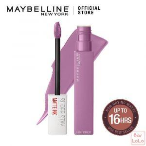 MAYBELLINE NEW YORK SUPER STAY MATTE INK LIQUID LIPS 100 PHILOSOPHER 5ML(G3499300)-62747