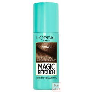 LOREAL PARIS MAGIC RETOUCH INSTANT ROOT CONCEALER SPRAY BROWN (A8649801)-63555