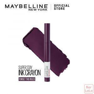 MAYBELLINE SUPER STAY INK CRAYON MATTE LIPSTICK 70 FORGET THE RULES-73396