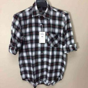 Men Flannel Shirts (XIX017)