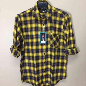 Men Flannel Shirts (XIX018)