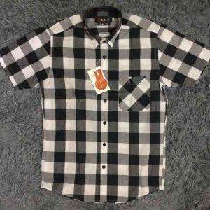 Men Short Sleeve Shirts (XIX022)