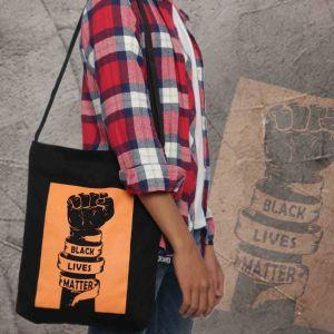 Rebel Shoulder Bag (Black Lives Matter)