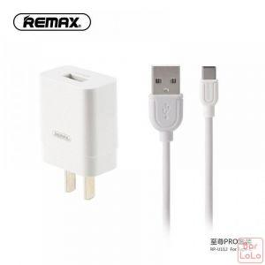 REMAX USB Charger SET for Type-C ( RP-U110 )-63178