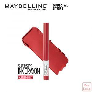 MAYBELLINE SUPER STAY INK CRAYON MATTE LIPSTICK 45 HUSTLE IN HEELS (G3706800)-73390