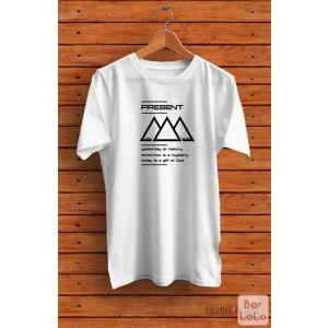 Men T-Shirt (Present) (XL)-74105