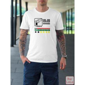 Men T-Shirt (19:19) (XL)-74116