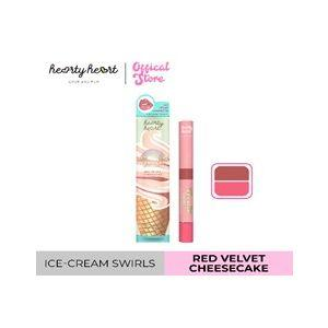 Hearty Heart Dual lipstick (0.5g + 1.5g)(Red Velvet Cheesecake)