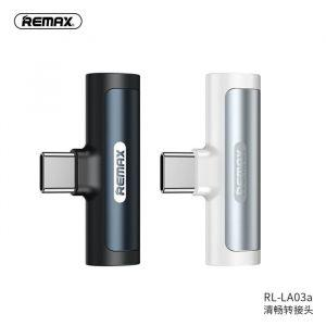 Remax Smooth Series 3.5mm & Type-C Audio Adapter RL-LA03a