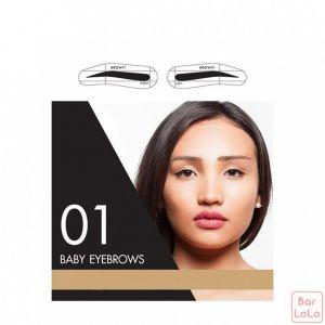 Cathy Doll Easy Drawing Brow Sticker 12Pairs Browit-28056