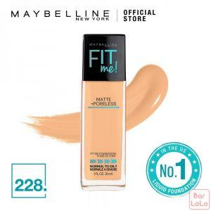 MAYBELLINE NEW YORK Fit Me Matte Poreless Foundation 228 Soft Tan (G3389101)-62372