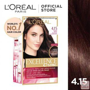 LOREAL PARIS EXCELLENCE CRÈME HAIR COLOR 4.15 FROSTED BROWN 172 ML-63505