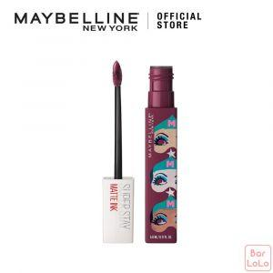 MAYBELLINE SUPER STAY MATTE INK ASHLEY LONGSHORE LIMITED EDITION LIPS 40 BELIEVER ( G3803200 )-73372