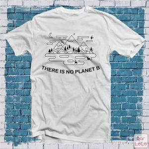 Men T-Shirt (There Is No Planet B) (XXL)-76301