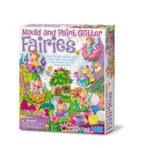 4M Mould and Paint Glitter Fairies (Code-35240)