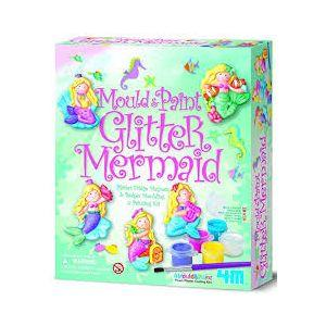 4M Mould and Paint Glitter Mermaid (Code-35264)