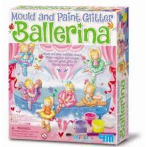 4M Mould and Paint Glitter Ballerina (Code-35271)