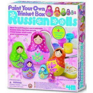 4M Paint Your Own Russian Dolls (Code-46178)