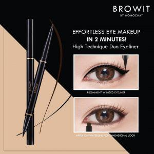 Browit HIGH TECHNIQUE DUO EYELINER