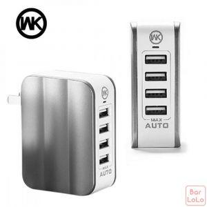 WK Mousse  series 4USB home charger-41313