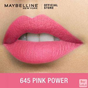 MAYBELLINE NEW YORK COLOR SENSATIONAL CREAMY MATTE LIPSTICK 645 PINK POWER 4.2G(G3572400)-62657