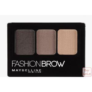 MAYBELLINE NEW YORK FASHION BROW PALLETTE BROWN 3G(G3621900)-63439