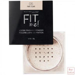 MAYBELLINE NEW YORK FIT ME LOOSE POWDER 05 FAIR 0.7OZ/20G (K2433900)-63627