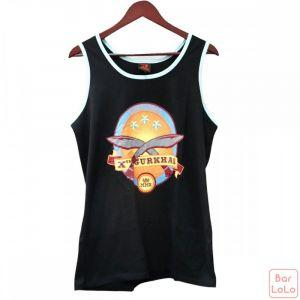 Vestige Myanmar Men Tank-Tops T-Shirt Two Knife (Code - 89300109.3)-64036