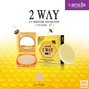 Camella Two Way UV Moisture Foundation (Colour 2 Natural Beige)-73785