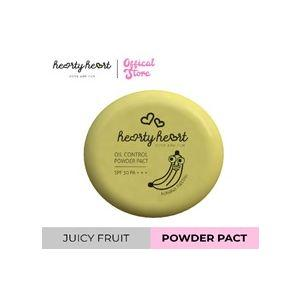 Hearty Heart Juicy Fruits Powder Pact (4.5g)(Banana)