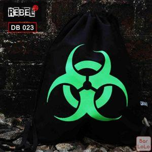 Rebel Drawstring Bag (Warning)-59128