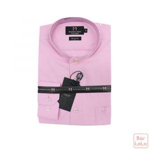 Stick Collar Shirt Long Sleeves (Exclusive) (MT004L73)-62640