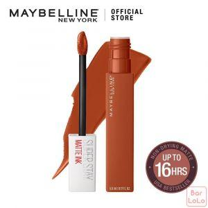 MAYBELLINE NEW YORK SUPER STAY MATTE INK CITY EDITION LIQUID LIPS 135 GLOBE-TROTTER 5ML-62833