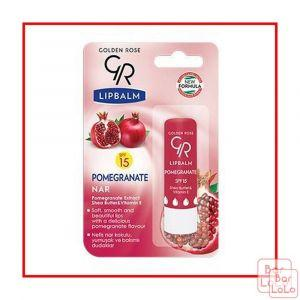 Golden Rose lip Balm POMEGRANATE-57782